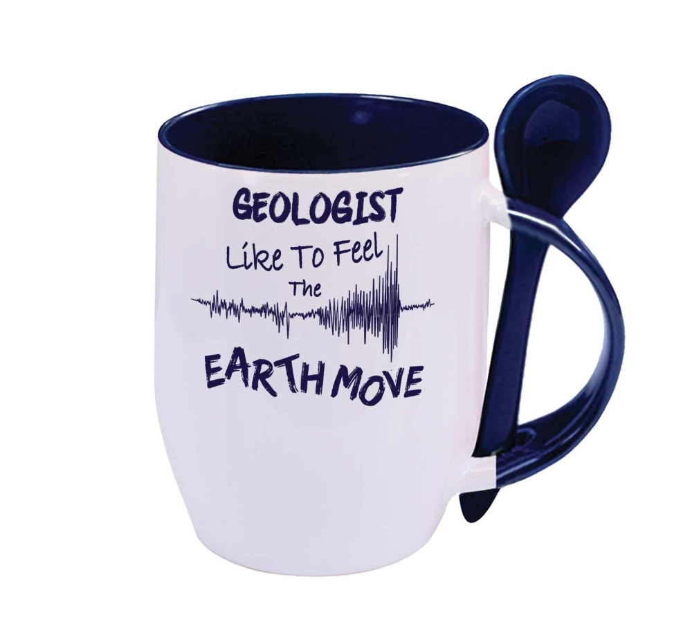 Geologist like earth move