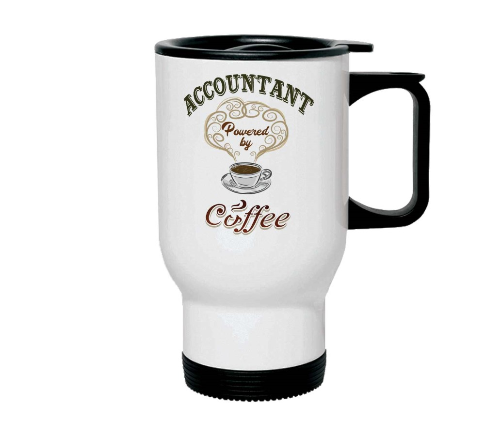 Accountant powered by coffee